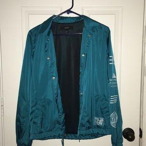 """""""Feel the heat """" windbreaker type jacket"""